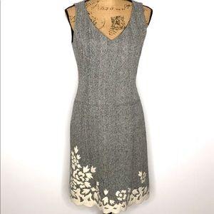 Kay Unger New York Dress-Size 6-Herringbone
